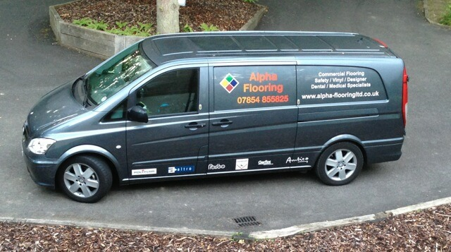 Alpha Flooring Van